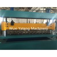Best Auto Hydraulic Cut to Length Corrugated Roll Forming Machine OMRON Encoder wholesale
