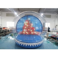 Wholesale 0.8mm Transparent Inflatable Snow Globe Photo Booth from china suppliers
