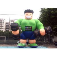 Wholesale 25' High Big Advertising Guy Inflatable Muscle Man For GYM Outdoor Promotion from china suppliers