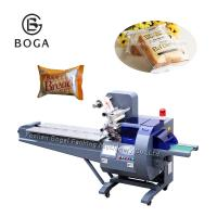 Wholesale Food Grade Sponge Cake Packaging Machine Plastic Bag Packing CE Approved from china suppliers