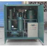 TYA Zhongneng vacuum lubrication oil automation purifier for sale