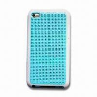 Wholesale Double Color Case for Apple's iPod Touch 4, Made of TPU and PC Material from china suppliers