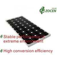 Best Safety Mono Solar Panels 105w Eco-friendly With Mc4 Solar Connector wholesale