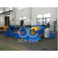 Best 500T High Efficient Pipe Welding Rotator Yellow / Orange With Metal Rollers wholesale
