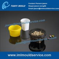 Wholesale thin walls food grade containers mould, 250-800 ml thin wall round bucket mould from china suppliers