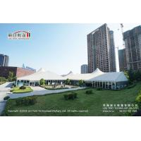 Buy cheap 30m Span Width High Peak Tent With Glass Walls All Around For Auto Show from wholesalers