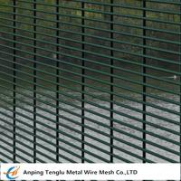 China 358 Security Mesh Fence |76.2 mmX12.7 mmX4mm Wire for sale