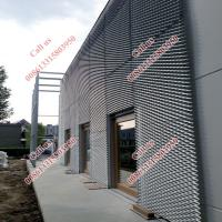 Wholesale Decorative expanded mesh facade/expanded metal mesh facade from china suppliers