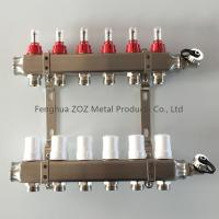 Wholesale Hydronic Floor Heating Manifold Supples, Hydronic PEX Tubing Floor Heating Manifold from china suppliers