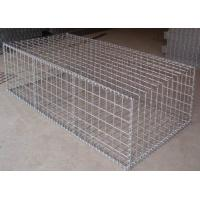 Wholesale Construction Galvanized Gabion Baskets Retaining Wall 4.0mm-5.0mm Wire Gauge from china suppliers