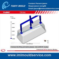Wholesale thin wall plastic rectangular containers mould flow analysis from china suppliers