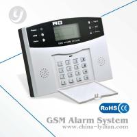 Wholesale Wireless GSM Security Alarm System LCD Display Autodial Back-up Battery Multi Languages from china suppliers
