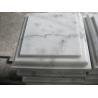 Marble Wall Coping Guangxi White Marble Pillar Cap China Carrara Marble Pier Cap Finials for sale