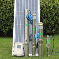 Wholesale Solar Water Pump for Agriculture Farm Irrigation Water Solar Submersible Pump ubmersible MPPT Controller Kits Deep Bore from china suppliers