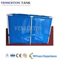 Hot Sale 2000L  steel frame fish tank 5000l water tank for fish farming for sale