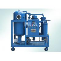 Energy Savings Lubricant Oil Hydraulic Oil Purifier Machine Multi Stage Filtration System for sale