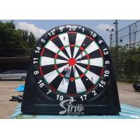Wholesale 3m high 3in1 giant inflatable golf dart board with support base for kids N adults from golf dart game factory from china suppliers