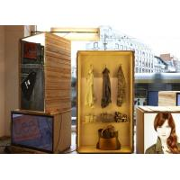 Buy cheap Eye Catching Window Display Accessories , Visual Marketing AD Wooden Light Box from wholesalers