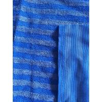 Buy cheap 160cm Width Warp Knitting Blue Eight Grid Microfiber Cleaning Cloth SGS from wholesalers
