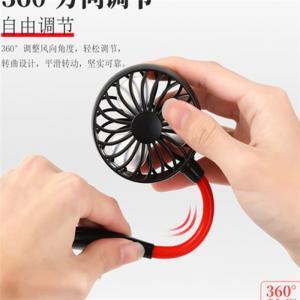 Wholesale Meraif 2020 Hot Sale Lazy Hand-Free Neck Sport Fan, Mini Hanging Neck Fan Outdoor Portable Wearable Sport fan from china suppliers