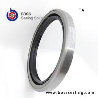 Wholesale NBR FKM Iron spring oil seal TA type double lip high quality framework seals from china suppliers