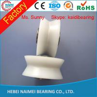 Wholesale V Groove Plastic Covered Ball Bearings / V Groove Pulley Wheel from china suppliers