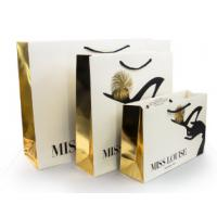 Luxury Shopping Paper Bags with Your Own Logo Printing Paper Bags for sale