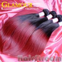 Buy cheap 100% human ombre hair braiding hair ombre weave hair sew in human hair weave from wholesalers