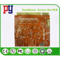China Multilayer Printed Circuit Board Prototype Immersion Gold Finger Fr4 Base Material on sale