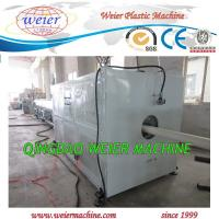 Best Water Pvc Pipe Extrusion Line , Plastic Pipe Making Machine 63mm to 200mm diameter wholesale