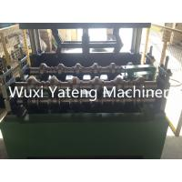 Best Trapezoid Roofing Sheet Bending Machine , Two Stands Feeding Rollers Precision Metal Roofing Roll Former Machine wholesale