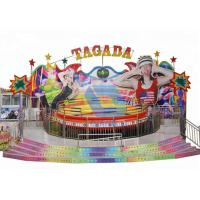 Wholesale Fun Carnival Theme Park Rides Disco Tagada Turntable Funfair Rides On Trailer from china suppliers