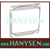 China 4 Square 1/2 Raised Two Gang Device Ring electrical box extender cover on sale