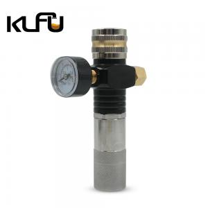 Wholesale Aluminum Material 30PSI / 60PSI Extended Sodastream Mini Regulator from china suppliers