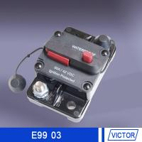 Push button reset circuit breaker  30 amp 50 amp 12volt for marine engine compartments