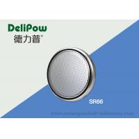 China Customized SR66 Coin Cell Batteries , Rechargeable Button Cell Batteries  on sale
