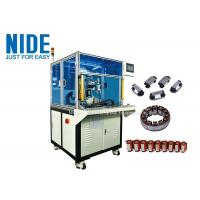 China Linear Segment Stator Winding Machine Open Pole Stator Needle Coil Winding Equipment for sale