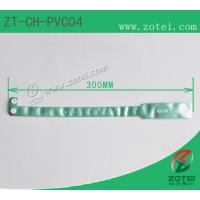 Wholesale RFID one-time PVC wristband tag (LF/HF/UHF, Product Type:ZT-CH-PVC04) from china suppliers