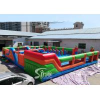 Quality The big bounce kids and adults blow up inflatable theme park for indoor for sale
