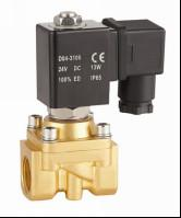 """Mini 1/4""""Water Solenoid Valve Two Way Electric Water Valve Semi Direct Acting"""