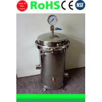 Best Stainless Steel Water Filter Housing 10 inch 3 cores 304/316 material wholesale