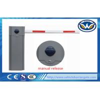 Automatic Parking Vehicle Barrier Gate , Traffic Boom Gate Systems 6s Operation Time