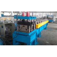 Best Metal Roof Cutting Ridge Cap Roll Forming Machine With PLC Control wholesale