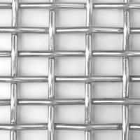 Wholesale Electric - galvanized crimped square wire mesh , 2 x 2 / 4 x 4 / 10 x 10 from china suppliers