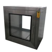 Wholesale Electric Inter Locker Cleanroom Pass Through Box For Controlled Environment from china suppliers
