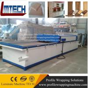 China China pvc membrane press mdf doors vacuum membrane press machine on sale