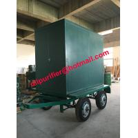 Four Wheels trailer vacuum transformer oil cleaner, insulation oil filtration machine for sale