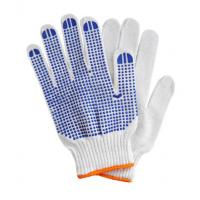 China PVC dotted gloves, Cotton PVC dotted gloves on sale
