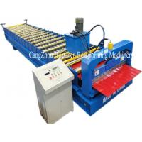Best Hi Rib Trapezoidal Wall Panel Roll Forming Machine , roof sheet forming machine wholesale