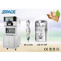 304 Stainless Steel Soft Serve Freezer , Commercial Ice Cream Equipment for sale